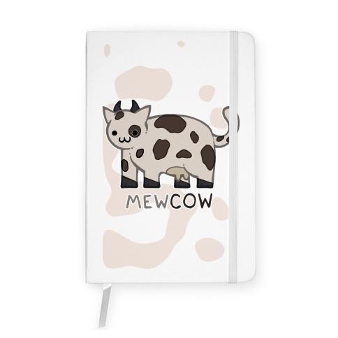 Mew Cow Notebook