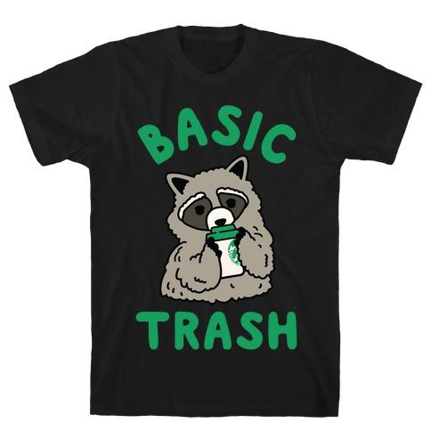 Basic Trash Coffee Raccoon T-Shirt