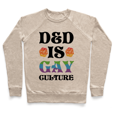 D&D Is Gay Culture Pullover