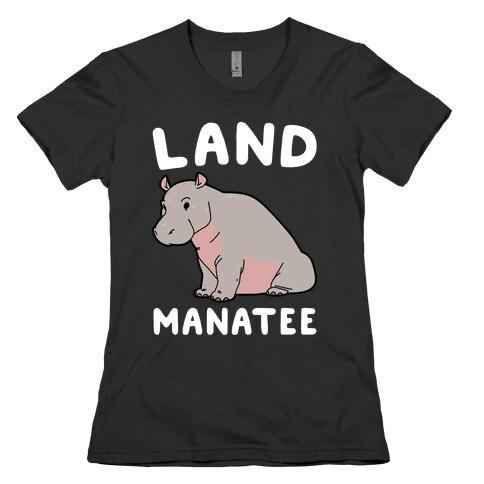 Land Manatee  Womens T-Shirt