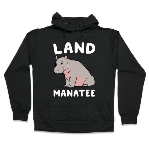 Land Manatee Hooded Sweatshirt