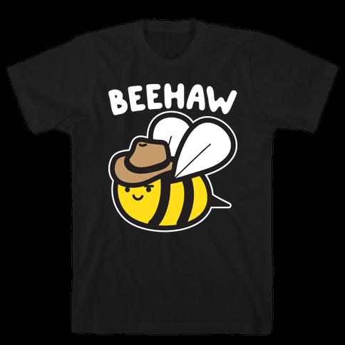 Beehaw Cowboy Bee Mens T-Shirt