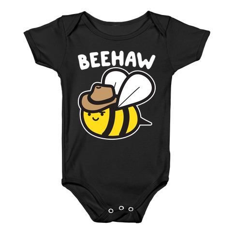 Beehaw Cowboy Bee Baby Onesy