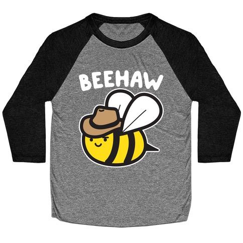 Beehaw Cowboy Bee Baseball Tee