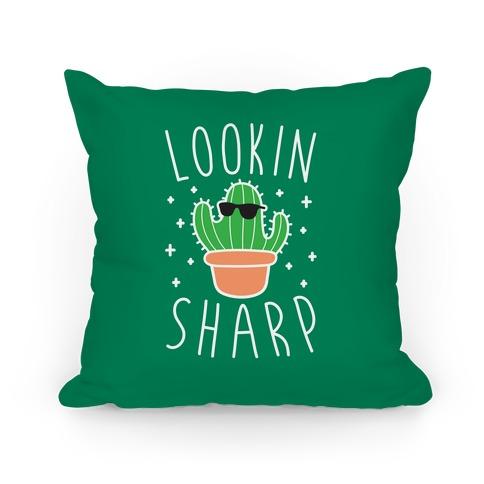Lookin Sharp Pillow