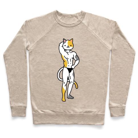 Buff Cat Calico Pullover