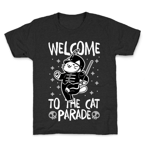 Welcome to the Cat Parade Kids T-Shirt