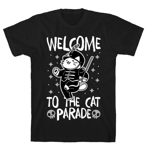 Welcome to the Cat Parade Mens/Unisex T-Shirt