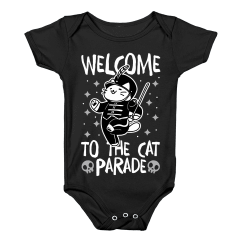 Welcome to the Cat Parade Baby Onesy
