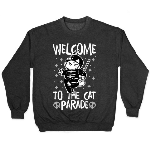 Welcome to the Cat Parade Pullover
