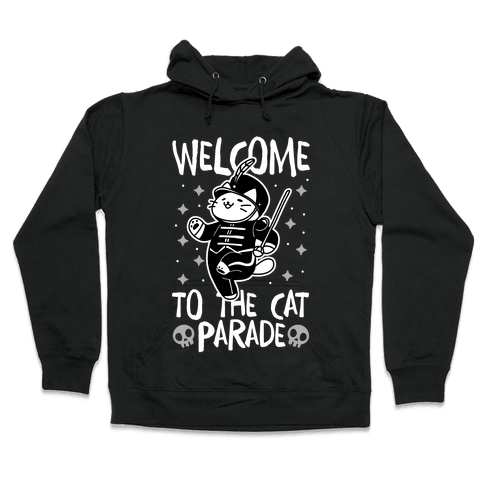 Welcome to the Cat Parade Hooded Sweatshirt