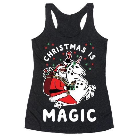 Christmas is Magic Racerback Tank Top