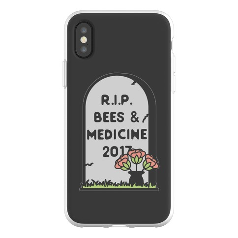 Rest In Peace Bees and Medicine Phone Flexi-Case