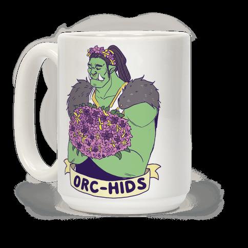 Orc-hids Coffee Mug
