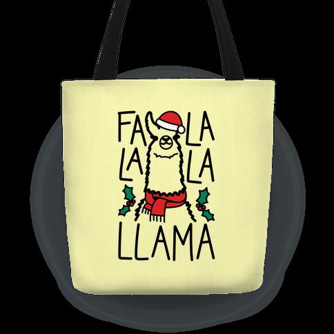 Falalala Llama Tote