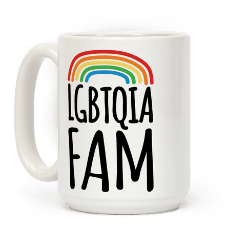 LGBTQIA FAM Coffee Mug