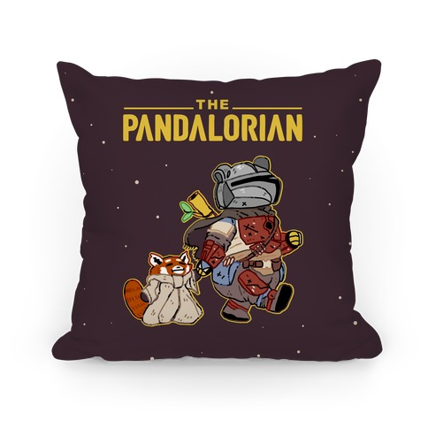 The Pandalorian Pillow