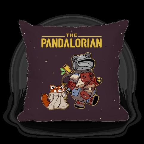 The Pandalorian Pillow
