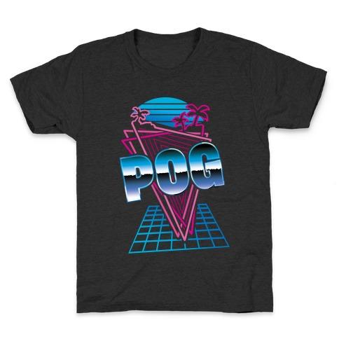 Retro Pog Kids T-Shirt