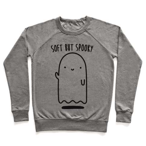 Soft But Spooky Ghost Pullover