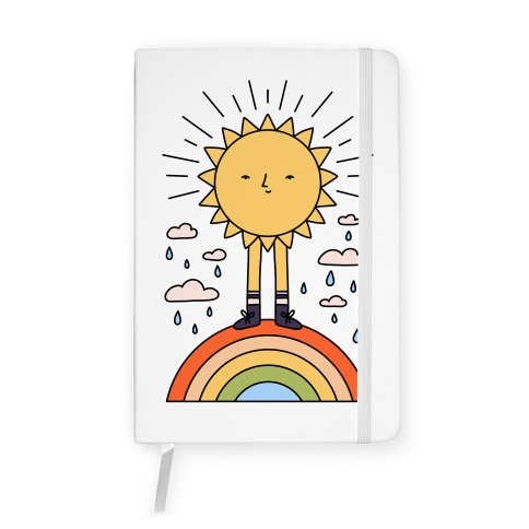 Solar Power Rainbow Notebook