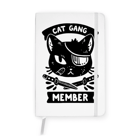 Cat Gang Member Notebook