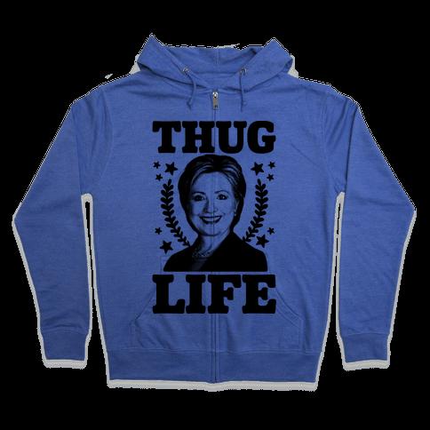 Thug Life HRC Zip Hoodie