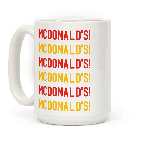McDonald's McDonald's McDonald's Coffee Mug