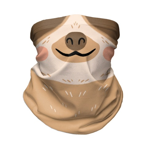 Sloth Mouth Neck Gaiter