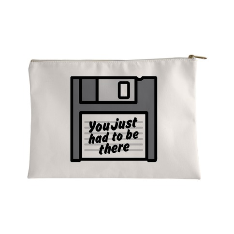You Just Had To Be There Floppy Disk Parody Accessory Bag