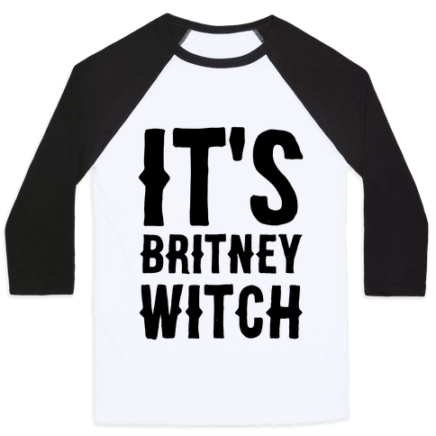 It's Britney, Witch Baseball Tee