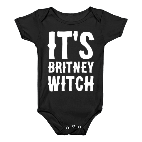 It's Britney, Witch Baby Onesy