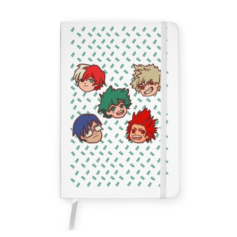 My Hero Academia Pattern Notebook