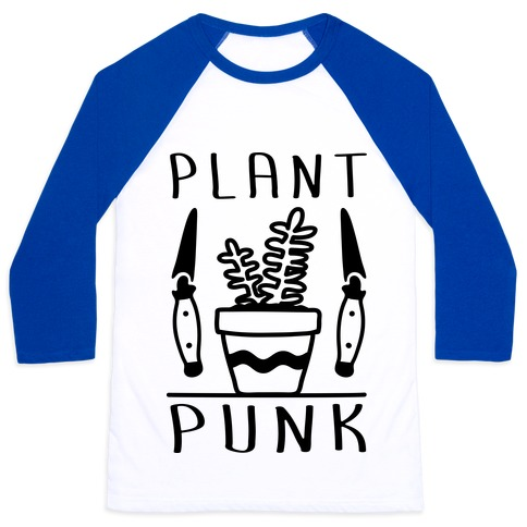 Plant Punk Baseball Tee