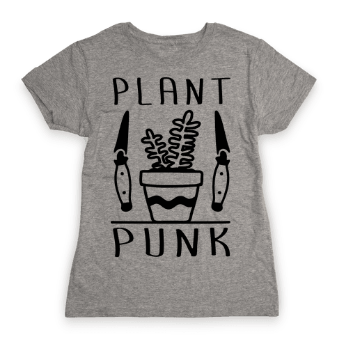 Plant Punk Womens T-Shirt