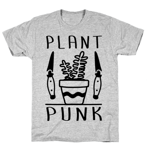 Plant Punk Mens T-Shirt