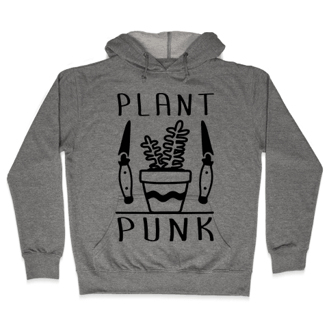 Plant Punk Hooded Sweatshirt