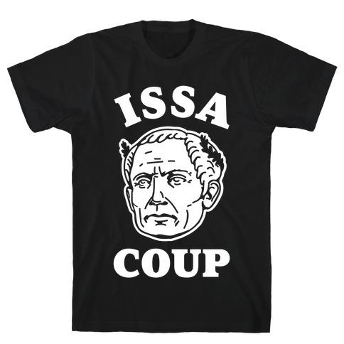Issa Coup Mens T-Shirt