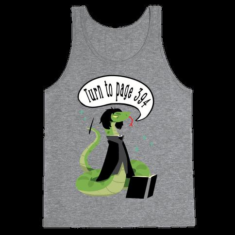 Severus Snake Tank Top