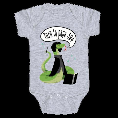 Severus Snake Baby Onesy