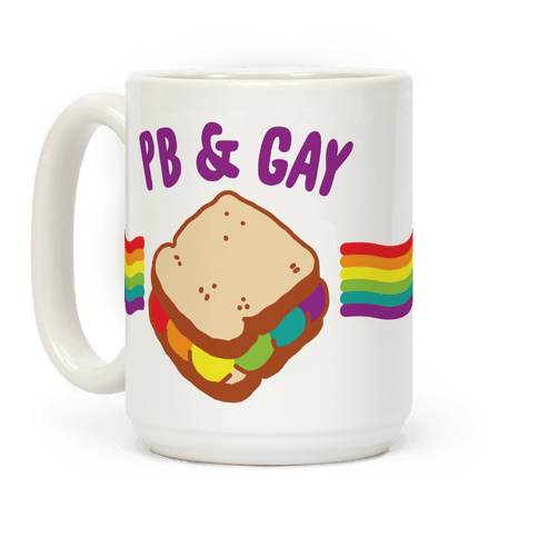 PB & GAY Coffee Mug