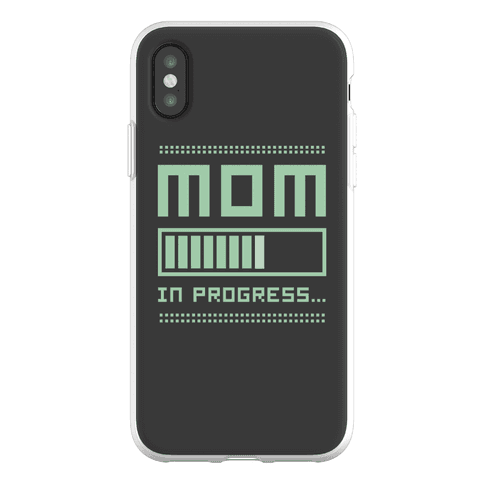 Mom in Progress Phone Flexi-Case