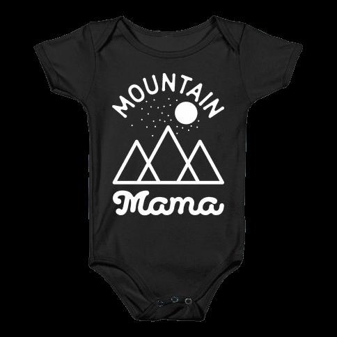 Mountain Mama Baby Onesy