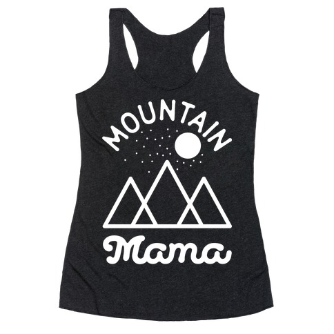 Mountain Mama Racerback Tank Top