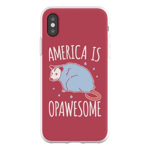 America Is Opawesome Parody Phone Flexi-Case