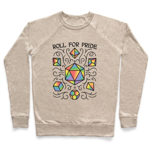 Roll For Pride DnD Dice Pullover