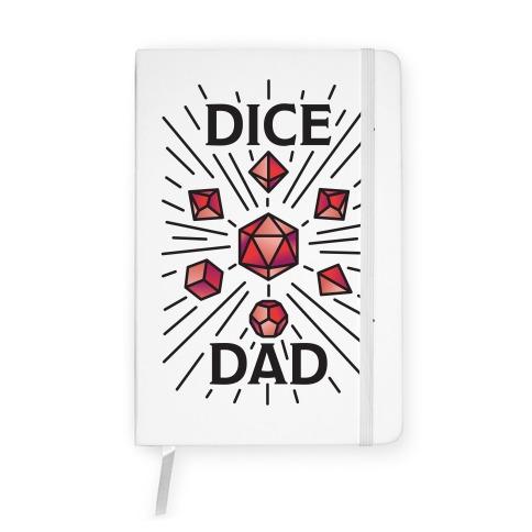 Dice Dad Notebook