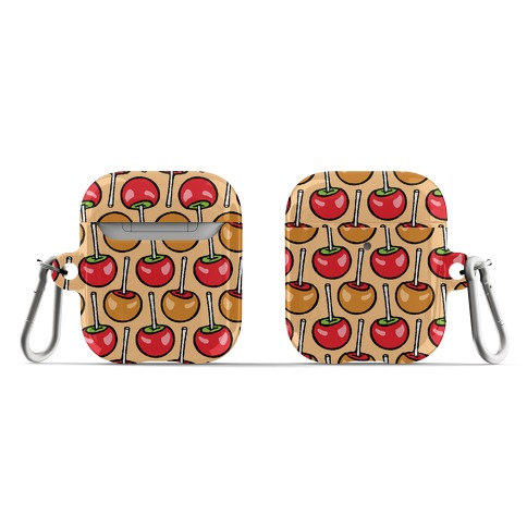 Caramel and Candy Apple Pattern AirPod Case