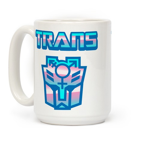Trans Robot Coffee Mug