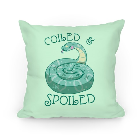Coiled & Spoiled Pillow